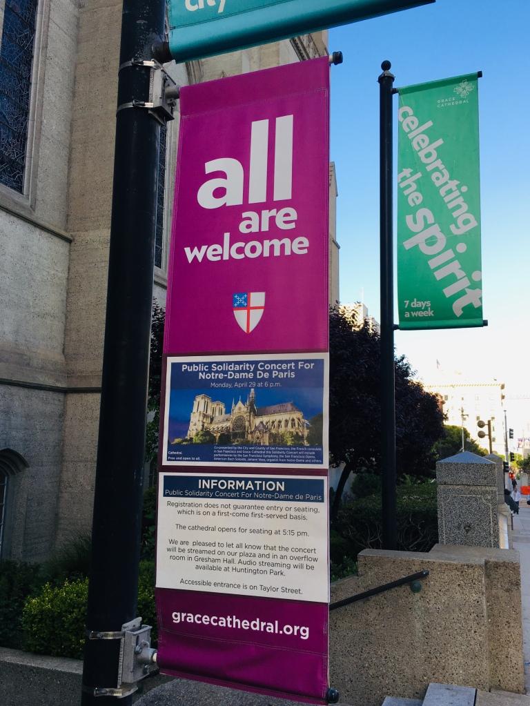 Public Solidarity Concert for Notre-Dame de Paris at Grace