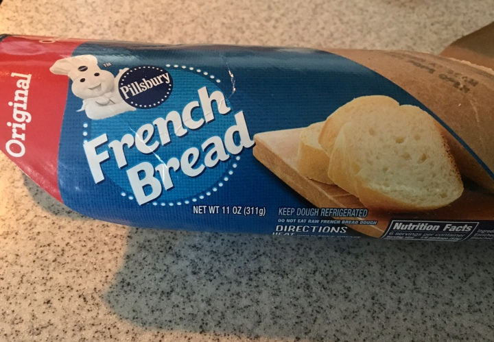 Pillsbury French Bread can of dough